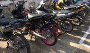 49 nam nữ từ các tỉnh về Tiền Giang tranh tài đua xe thì bị bắt