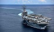 """Tàu sân bay Mỹ diễn tập """"đỉnh cao"""" ở biển Đông"""