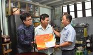 Mai Vàng nhân ái đến thăm nghệ sĩ Mai Trần và ảo thuật gia Trần Bình
