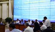 Thủ tướng Nguyễn Xuân Phúc làm việc với lãnh đạo TP HCM