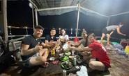 Câu mực đêm ở biển Quy Nhơn