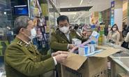 Quản lý thị trường Hà Nội ngăn chặn găm hàng, tăng giá khẩu trang