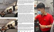 Tranh luận quanh việc cô gái ném điện thoại vào tiếp viên trưởng bị cấm bay 1 năm