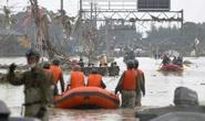 Trung Quốc: Mưa lớn xối xả, Vũ Hán mênh mông nước lụt