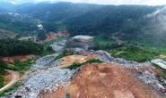 Núi rác Cam Ly Đà Lạt tiếp tục sạt lở, uy hiếp vườn người dân