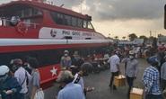 Ảnh hưởng mưa bão, tàu cao tốc ra vào Phú Quốc tạm ngưng hoạt động