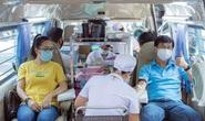 Đoàn viên tham gia hiến máu mùa dịch Covid-19