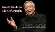 Tổ chức quốc tang nguyên Tổng Bí thư Lê Khả Phiêu trong 2 ngày 14 và 15-8