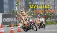 [eMagazine] Ngỡ ngàng với kỹ năng điều khiển mô tô của đội nữ CSGT dẫn đoàn đầu tiên
