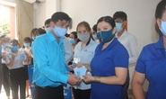 Tặng 10.000 khẩu trang vải kháng khuẩn cho đoàn viên - lao động