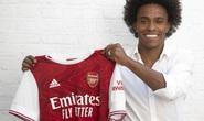 """Willian chính thức gia nhập Arsenal hưởng lương """"khủng"""""""