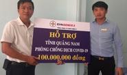 Thông qua Báo Người Lao Động, EVNGENCO 2 hỗ trợ Quảng Nam 100 triệu đồng phòng chống dịch Covid-19