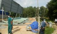 Sập nhà xưởng đang thi công, 3 công nhân bị thương
