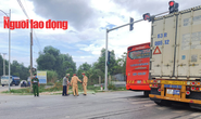 Quảng Bình: Va chạm với xe container, 1 người đàn ông tử vong tại chỗ