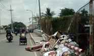Đầu cầu thành bãi rác