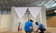 Bí thư Đà Nẵng kiểm tra việc xây dựng Bệnh viện dã chiến Cung Thể thao Tiên Sơn Đà Nẵng