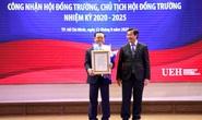 GS- TS Nguyễn Đông Phong trở thành Chủ tịch Hội đồng Trường ĐH Kinh tế TP HCM