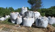 Đã rõ 60 tấn chất thải lạ mang từ Ninh Bình vào Thanh Hóa đổ là chất gì?