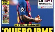 Messi quyết rời Barcelona