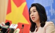Việt Nam yêu cầu Trung Quốc hủy bỏ tập trận ở Hoàng Sa