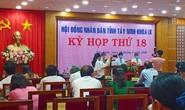 Ông Nguyễn Thanh Ngọc vừa được bầu làm Chủ tịch UBND tỉnh Tây Ninh
