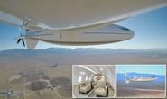 Mỹ ra mắt máy bay có hình viên đạn sau 3 năm giữ bí mật