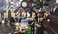 Xử lý 6 trai làng, gái quê tổ chức tiệc ma túy tại quán karaoke
