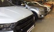 Xe bán tải không còn là xe con, tiêu thụ lao dốc