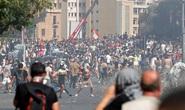 Biểu tình sau vụ nổ Beirut: Cảnh sát thiệt mạng, hàng trăm người bị thương