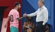 Barcelona chấp nhận chia tay, chờ trận cầu tri ân Messi