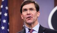 Bộ trưởng Esper: Trung Quốc không thể sánh với Mỹ về hải quân
