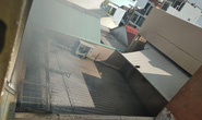 CLIP: Cột khói bốc cao ở khu vực phường Hiệp Tân, nhiều nhà dân hoảng hốt