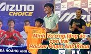 Rocker Phạm Anh Khoa tái xuất sân khấu, đưa con trai đến giao lưu Xuân Trường, Minh Vương