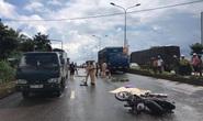 Mưa lớn, tông xe tải đậu bên đường, 1 người tử vong tại chỗ