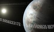 Trái Đất Pi ma quái hiện hình từ 20 vết lõm ánh sáng