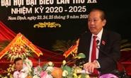 Phó Thủ tướng Thường trực Trương Hòa Bình dự Đại hội Đảng bộ tỉnh Nam Định