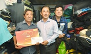Mai Vàng nhân ái đến thăm nghệ sĩ Trường Quang và Tuấn Phương