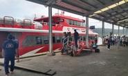 Tàu, phà cao tốc ra vô Phú Quốc tạm ngưng hoạt động do thời tiết xấu