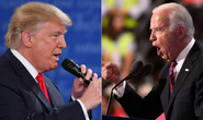 Trực tiếp tranh luận giữa Tổng thống Trump và đối thủ Biden