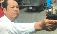 Công an xác minh người đàn ông dọa bắn vỡ sọ tài xế