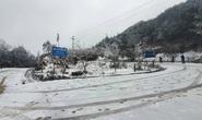 CLIP: Băng, tuyết trắng xóa ở Sa Pa, Y Tý