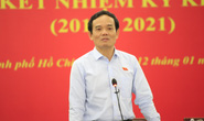Phó Bí thư Thường trực Thành ủy TP HCM: Tôi từng thấy khớp trước Đoàn ĐBQH TP