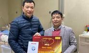 Mai vàng nhân ái thăm nhà thơ Trúc Thông và nhạc sĩ Trọng Bằng