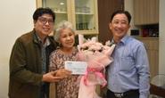 Mai Vàng nhân ái thăm NSƯT Ca Lê Hồng sau ca phẫu thuật viêm túi mật