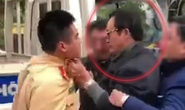 Chi cục trưởng vi phạm say xỉn, túm cổ áo lăng mạ CSGT