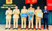 Phòng CSGT Thanh Hóa được thưởng nóng 50 triệu đồng