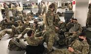 Mỹ lên tiếng vụ Vệ binh Quốc gia phải ngủ ở bãi đậu xe