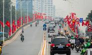 CLIP: Hà Nội rực rỡ chào mừng Đại hội Đảng XIII