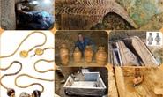 Kho báu rùng mình: hàng loạt mộ cổ đầy vàng ngọc lộ diện năm qua