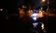 Trời không mưa, một khu dân cư ở Thủ Đức vẫn ngập nước cả ngày